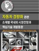 자동차 경량화 관련 소재별 국내외 시장전망과 핵심기술 개발동향