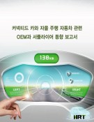 커넥티드 카와 자율 주행 자동차 관련 OEM과 서플라이어 동향 보고서 (CD포함)