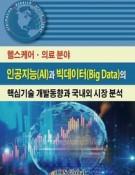 헬스케어ㆍ의료 분야 인공지능(AI)과 빅데이터(Big Data)의 핵심기술 개발동향과 국내외 시장 분석