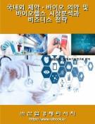 국내외 제약ㆍ바이오 의약 및 바이오헬스 시장분석과 비즈니스 전략